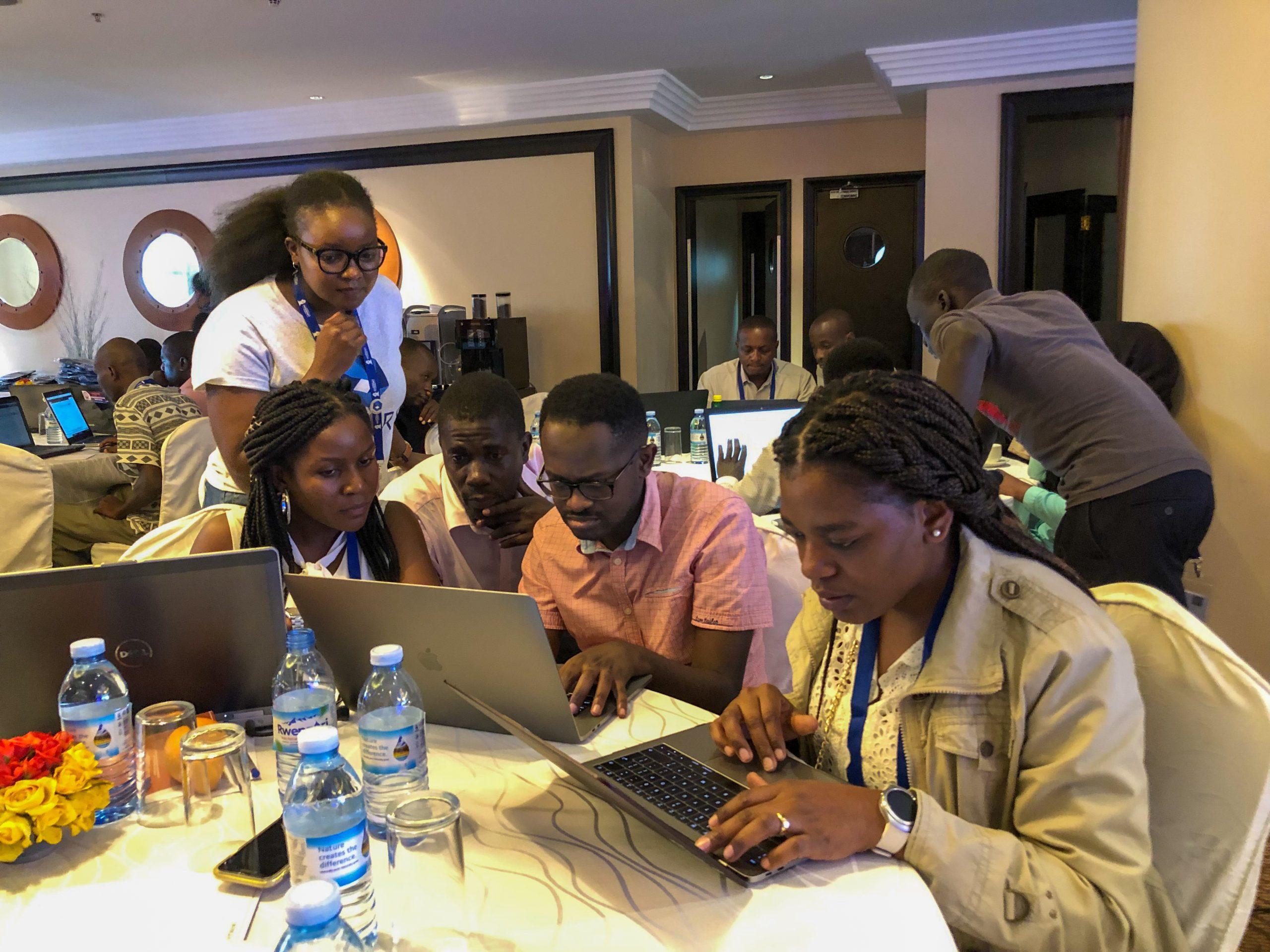 AIS 2019 Uganda Hackathon in Progress